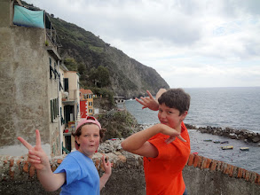 Photo: The kids liked to make weird poses when I tried to take pictures