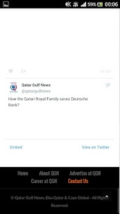 Qatar Gulf News- screenshot thumbnail