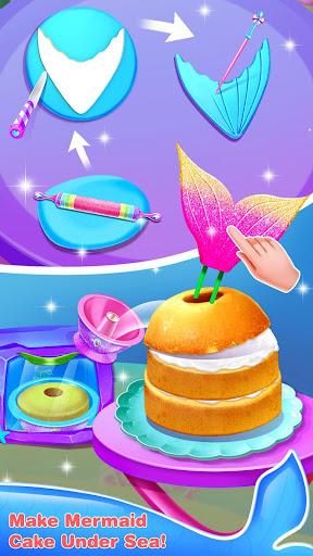 Mermaid Cake Decorating u2013 Girl Games for Free 1.3 screenshots 3