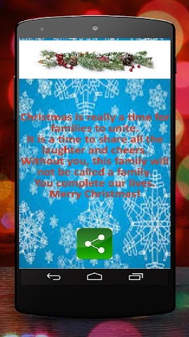 android Christmas SMS for Whatsapp Screenshot 1