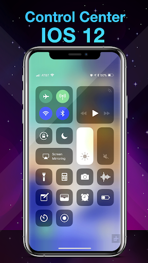 Download Phone X Launcher, OS 12 iLauncher & Control Center For PC 2