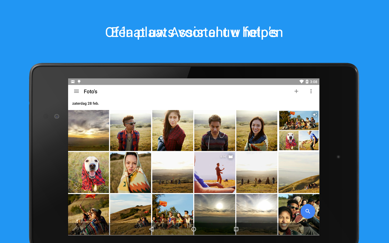 Google Foto's: screenshot
