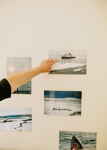 Fotos an Wand