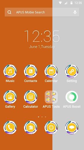 Ivory Coast theme for APUS