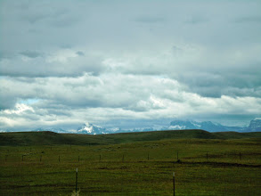 Photo: This part of Montana can be adequately described as a lot of nothing with mountains around to keep it in