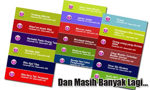 Ceramah KH Zaenuddin MZ Jariyah Sejuta Ummat - náhled