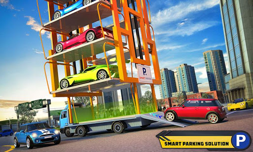Multi Car Parking Mania: Smart Crane Driving Games 1.1 screenshots 5