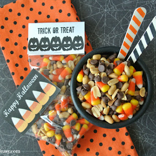 Baby Ruth Candy Corn Snack Mix