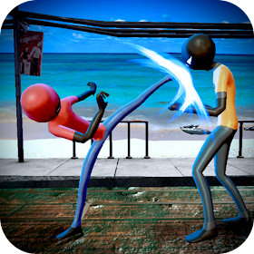 Super KungFu Battle: Stickman Street Fighter War