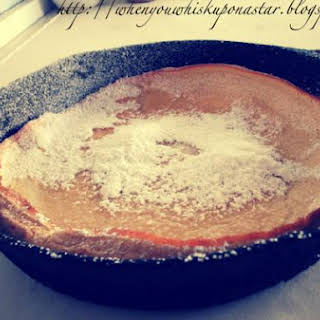 Whole Wheat German Pancake.