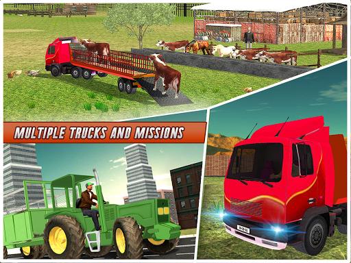 Farm Animal Transport Truck 2.5 screenshots 8