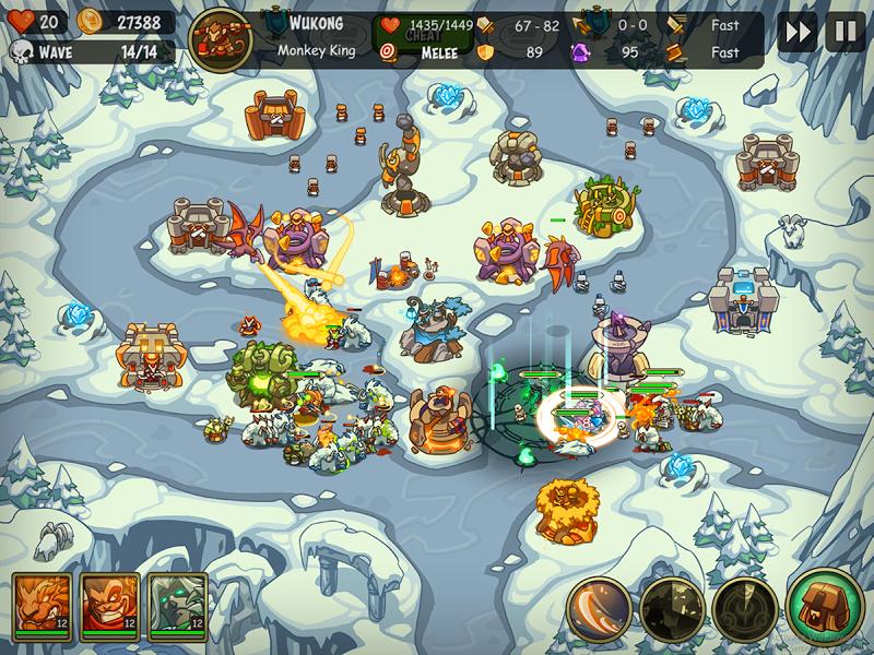 Empire Warriors Premium: Tactical TD Game Screenshot 15