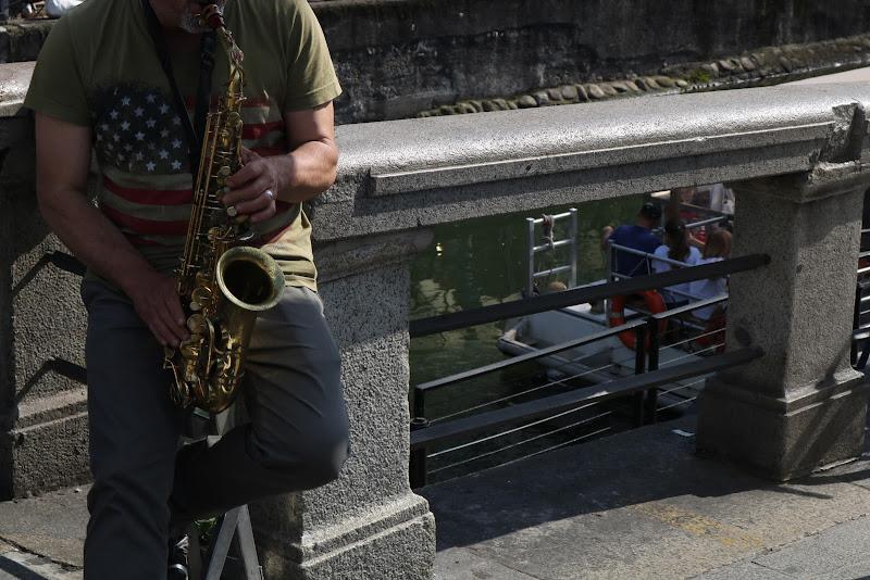 Una Domenica, un uomo, un sax e del jazz di saradellamattia