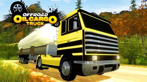 越野石油貨運卡車辛3D