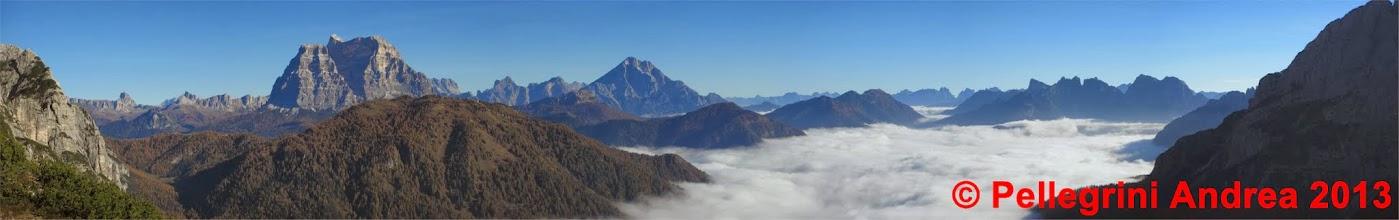 Photo: Panorama 3 verso l attacco, che panorama