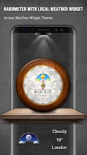 Barometer Local Weather Widget - náhled