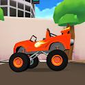 Blaze Monster Truck friendsDragon Island icon