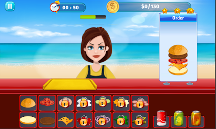 Burger Shop Crush APK screenshot thumbnail 4