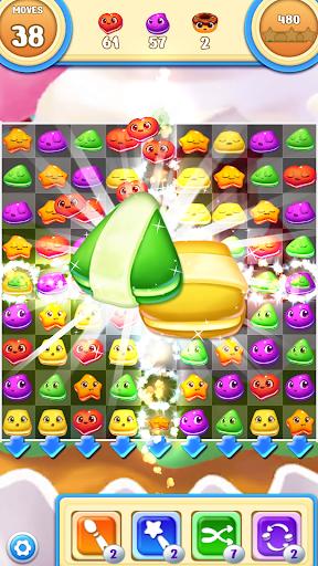 Macaron Pop : Sweet Match3 Puzzle android2mod screenshots 2