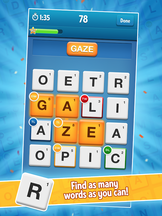 Screenshots of Ruzzle Free for iPhone