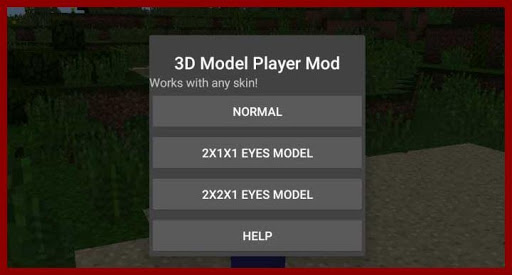 Guide for 3D Player Model Mod