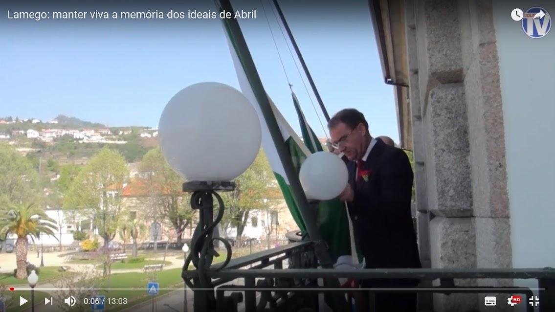 Vídeo - Lamego: manter viva a memória dos ideais de Abril