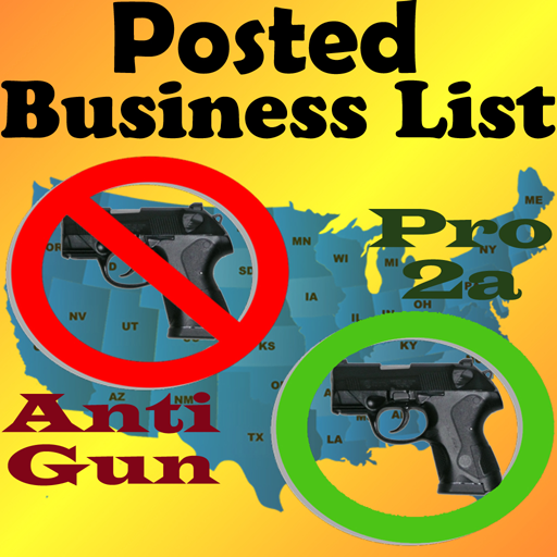 Posted! - List Pro & Anti Gun Carry Locations