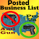 Posted! - List Pro & Anti Gun Carry Locations - Androidアプリ