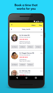 Zocdoc: Find & book a doctor- screenshot thumbnail