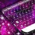 Pink Galaxy Keyboard icon