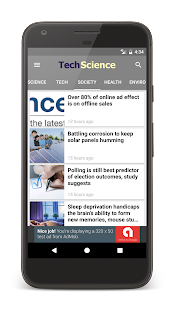 Tech + Science News- screenshot thumbnail