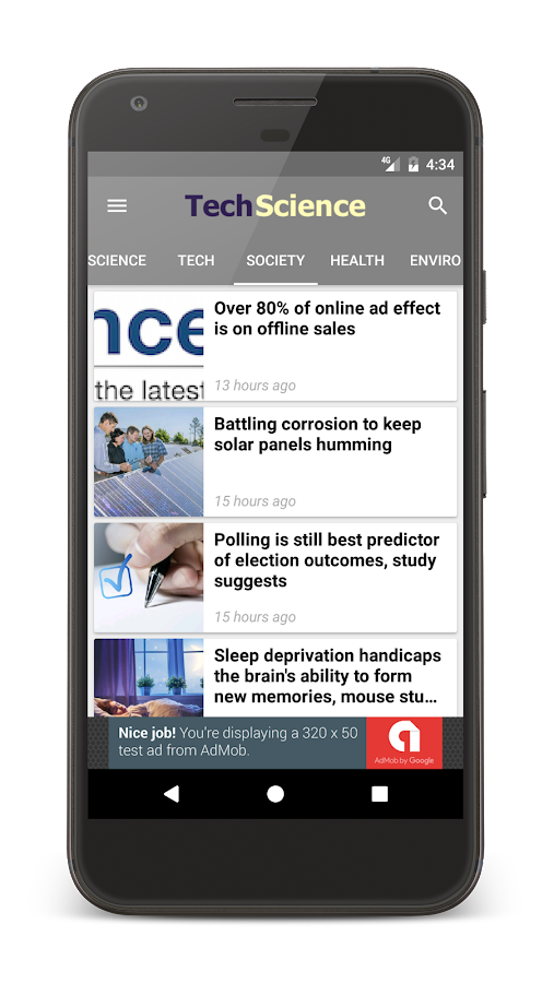 Tech + Science News- screenshot