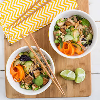 Thai Tofu and Noodle Salad.