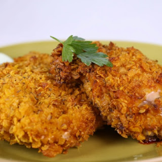 Clinton Kelly's Oven-Fried Chicken