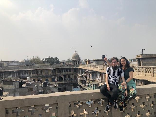 Carlos y Pilar ya han podido salir de la India.