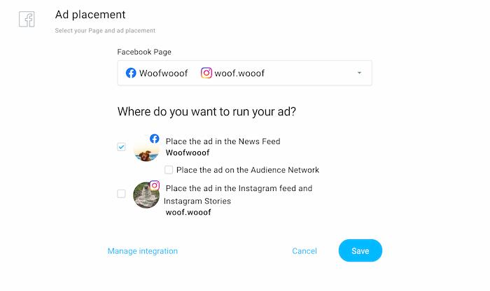 GetResponse Facebook and Instagram ads.