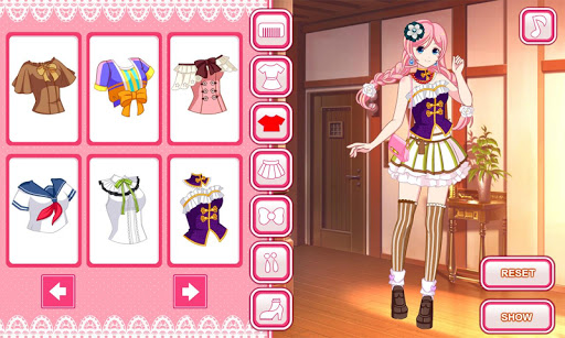 Anime dress up game 1.0.0 screenshots 3