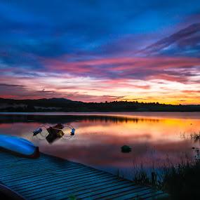 Vietnam Sunset by Rechard Sniper - Landscapes Sunsets & Sunrises