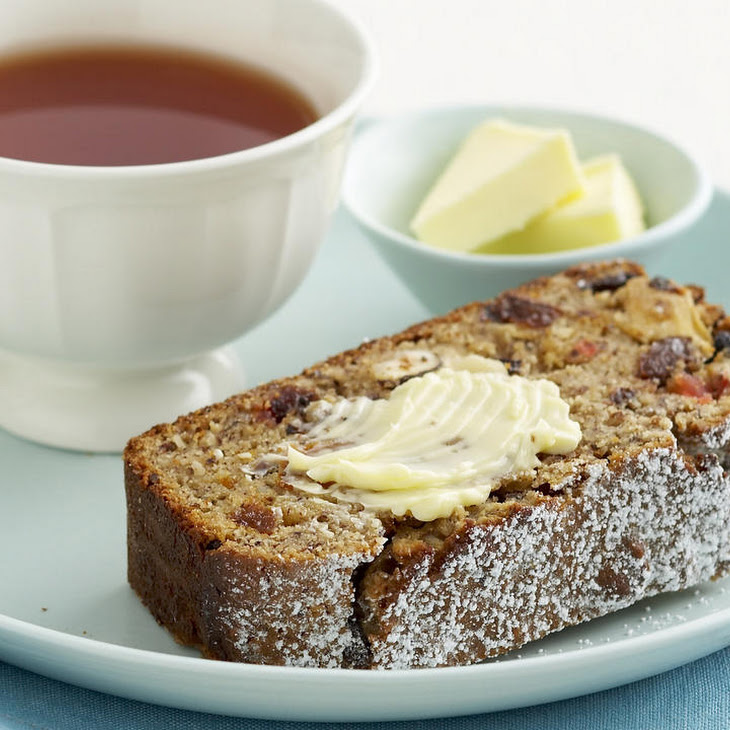 Gluten Free Fruit and Nut Loaf