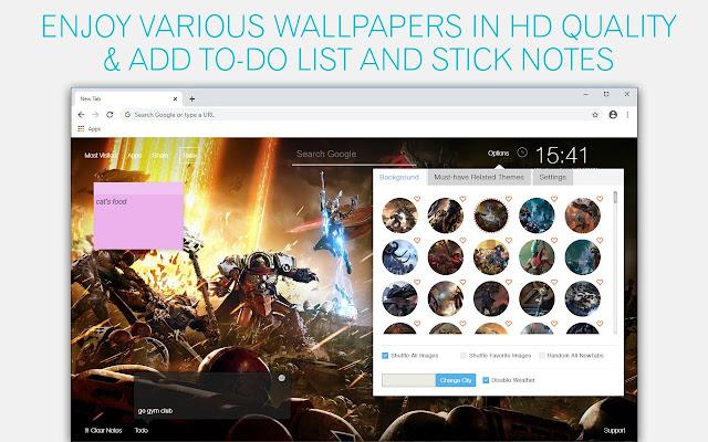 Warhammer 40K Wallpaper HD Warhammer 40K New Tab