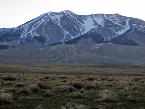 Photo: Dickey Peak in the morning. Approach is the west ridge.