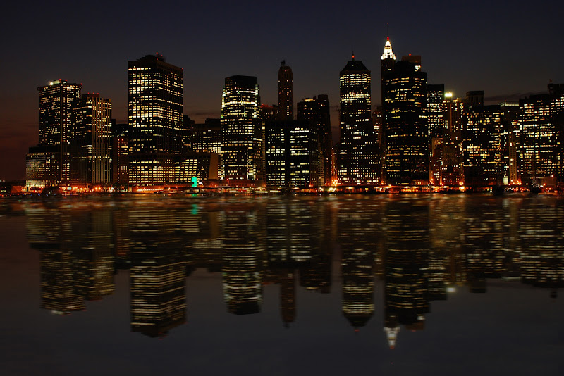 NY di sera di BASTET-Clara