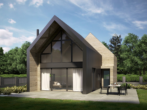 projekt House S.2 - drewno HBE