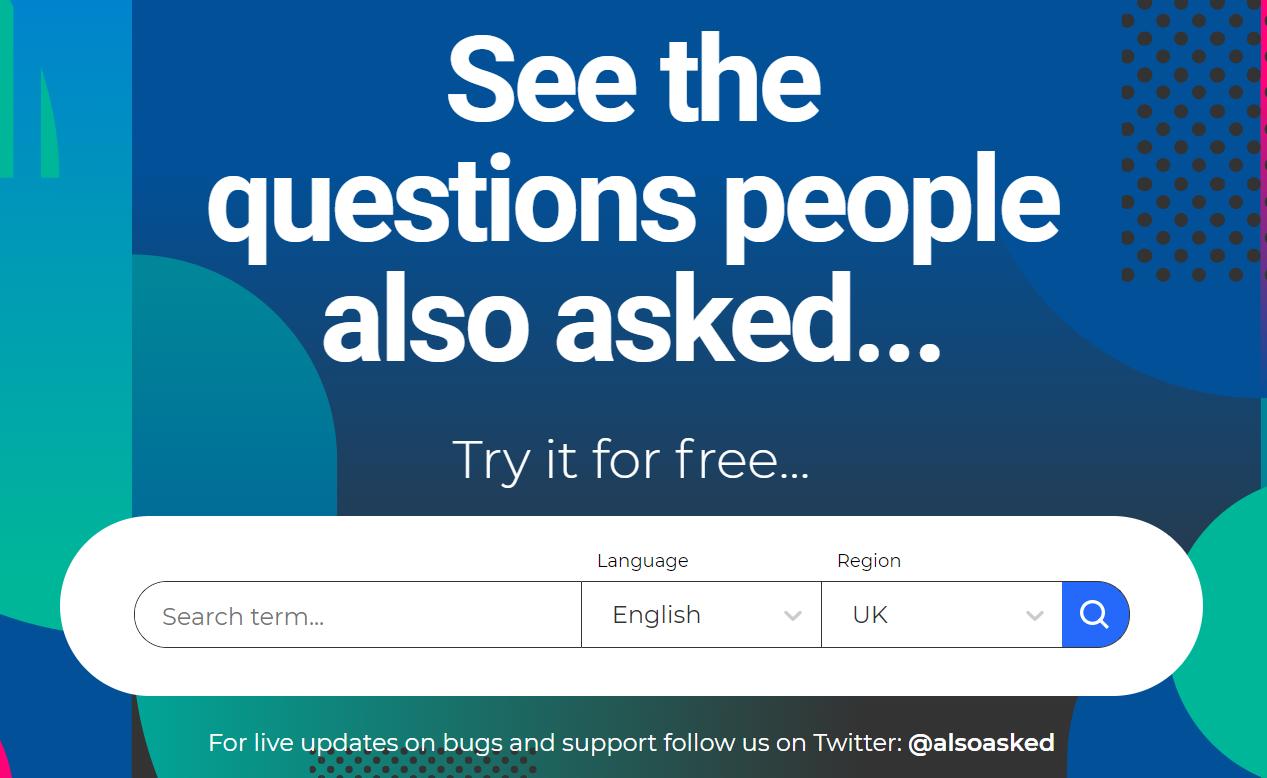 Also aked, un site permettant de trouver des questions pour une bonne rédaction web