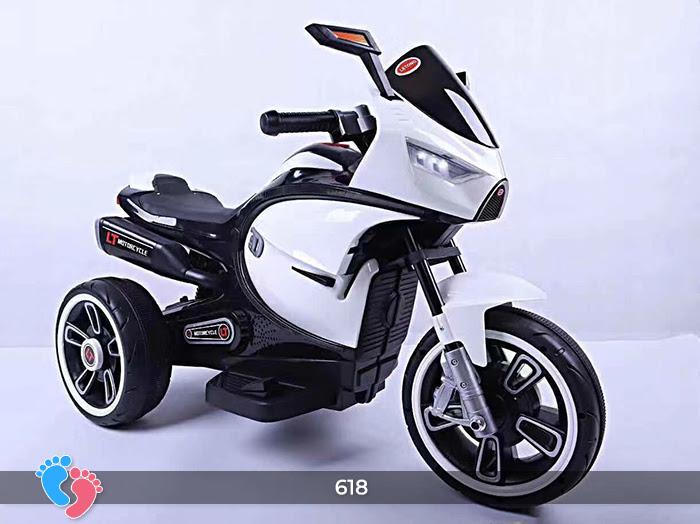 Xe mô tô điện cho bé điều khiển tay ga LT-618 14