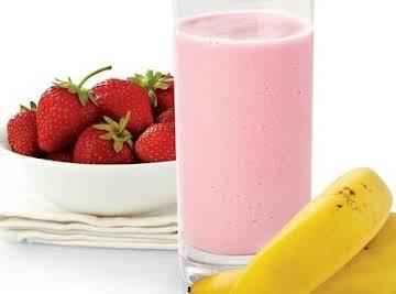 Easy Strawberry Banana Smoothy