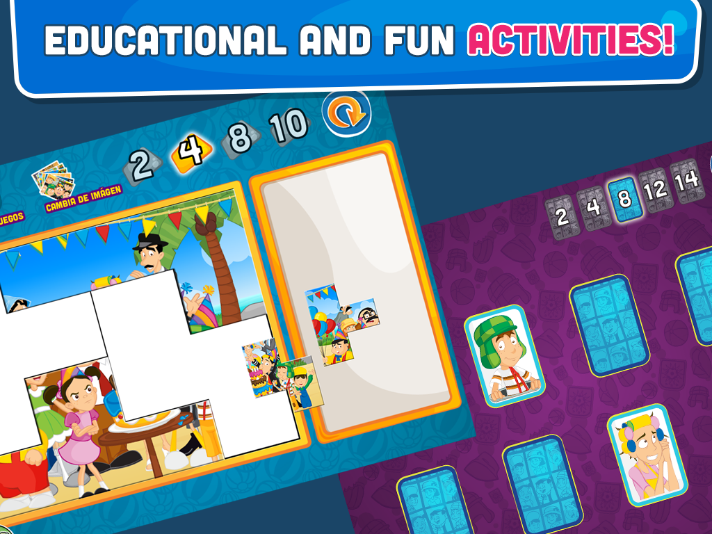 El Chavo Playbook Acapulco- screenshot