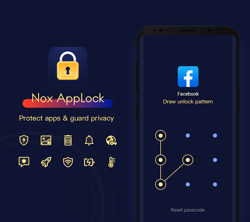 NoxAppLock - Protect Video, Photo, Chat & Privacy screenshot 1