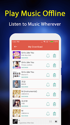Ulimate Music Downloader - Free Download Music 5.0 screenshots 3