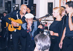 Photo: Pio Leyva (Buena Vista Social Club) - Randy Norfus, photographer